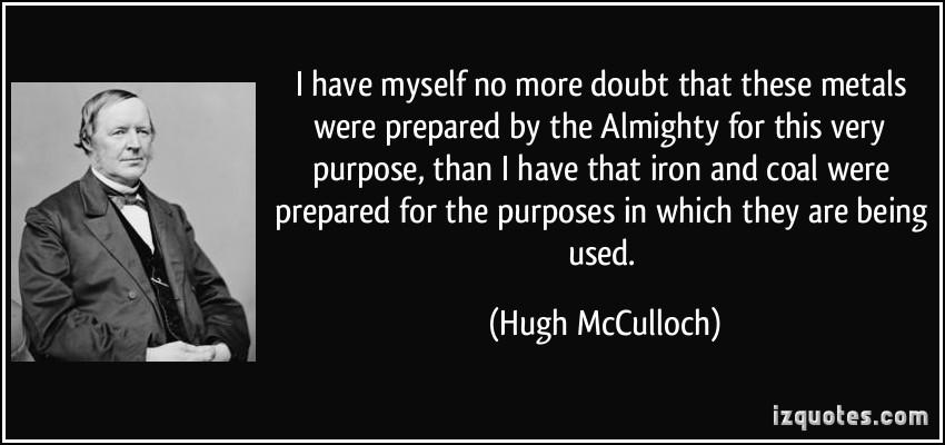 Hugh McCulloch's quote #1