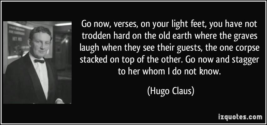 Hugo Claus's quote #1