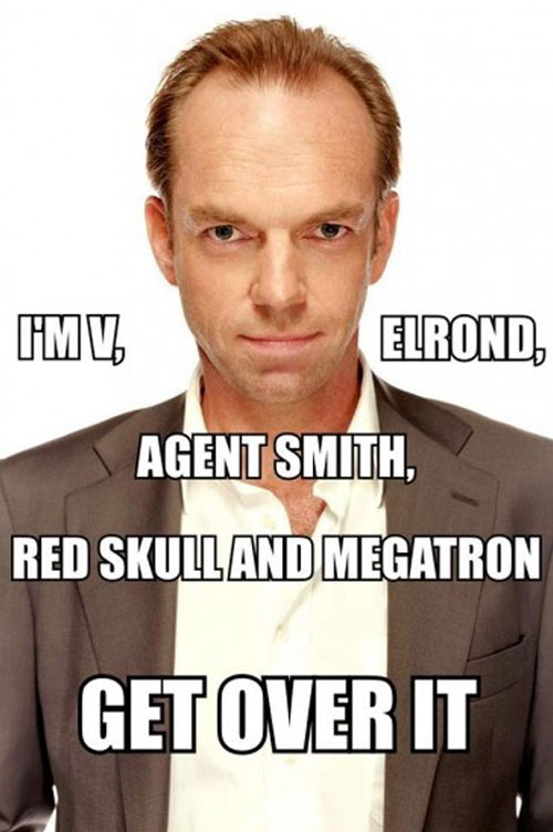 Hugo Weaving's quote #8
