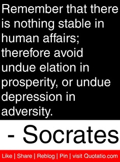 Human Affairs quote #1