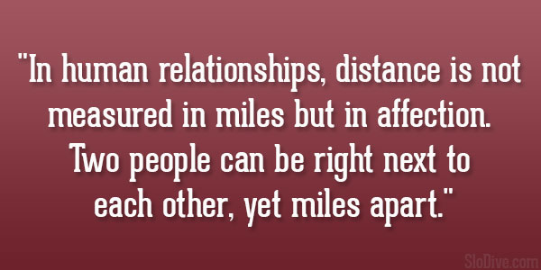 Famous Quotes About 'Human Relationships'