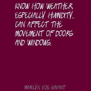Humidity quote #1