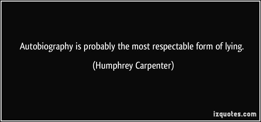 Humphrey Carpenter's quote