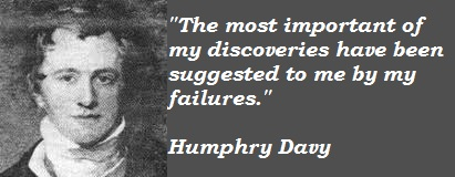 Humphry Davy's quote