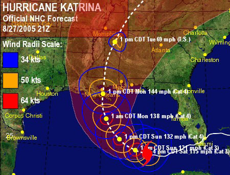 Hurricane Katrina quote #2