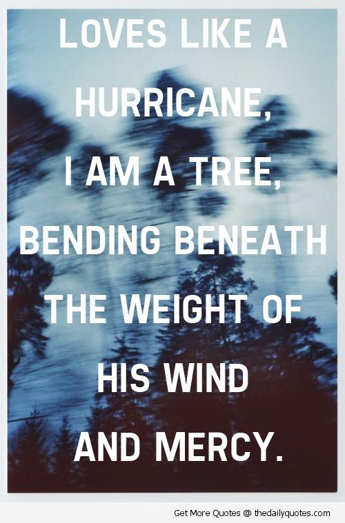 Hurricane quote #1