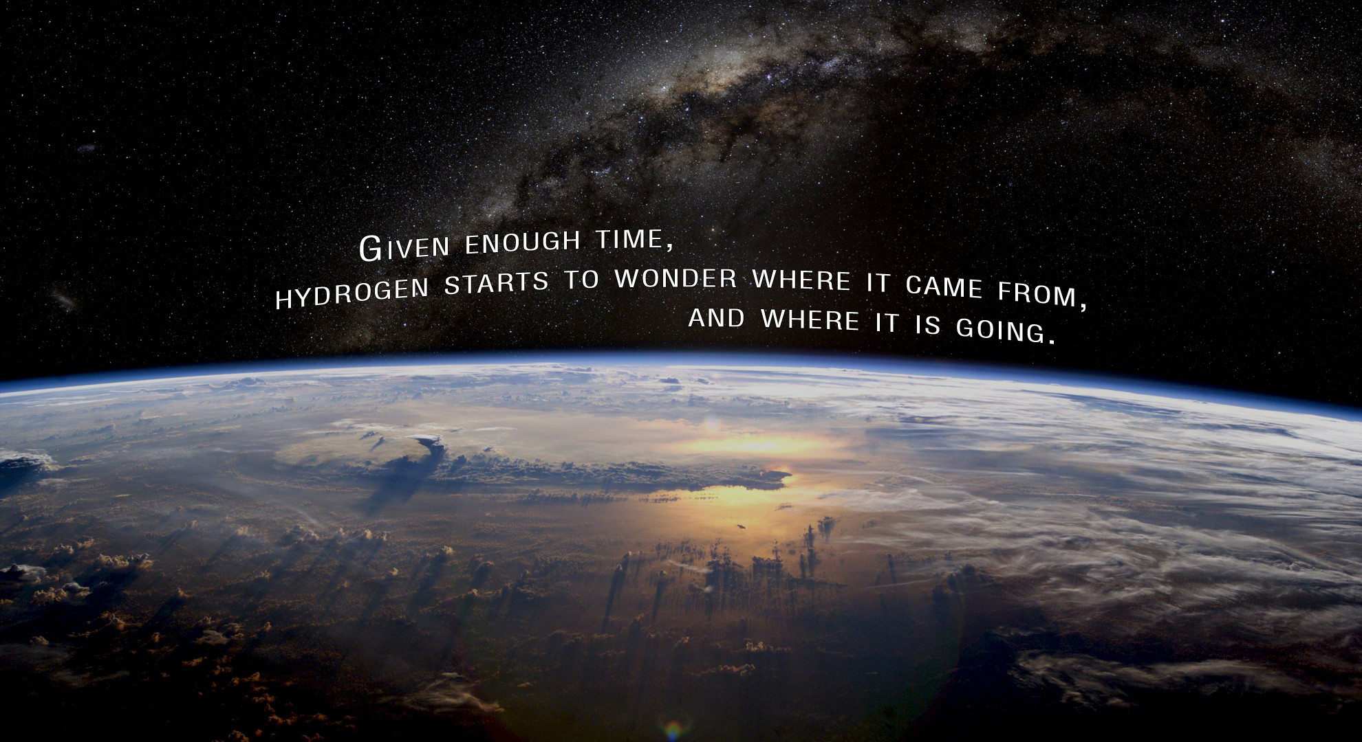 Hydrogen quote #2