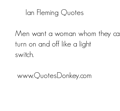Ian Fleming's quote #8