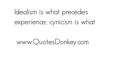 Idealism quote #5