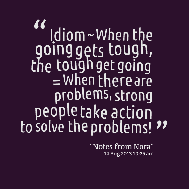 Idiom quote #2