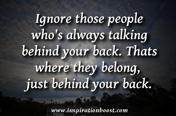 Ignore quote #3