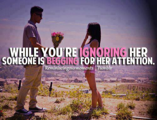 Ignoring quote #3