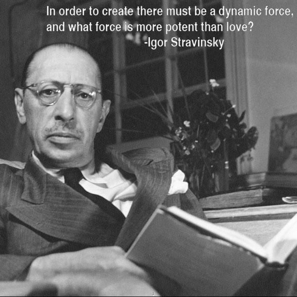 Igor Stravinsky's quote #5