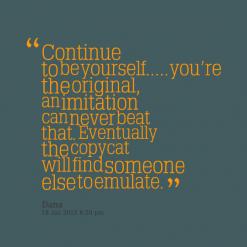 Imitation quote #7
