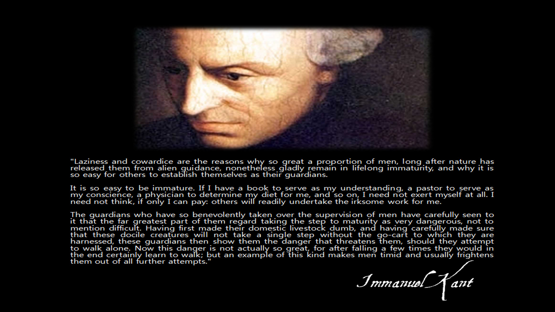 Immanuel Kant's quote #5
