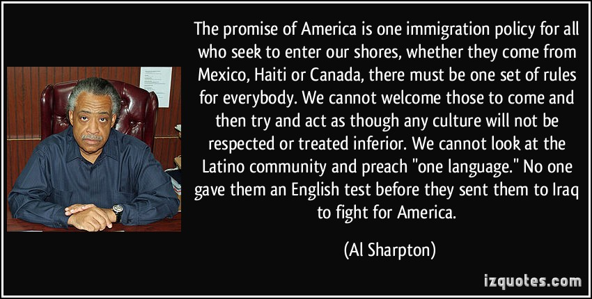 Immigration Policy quote #1