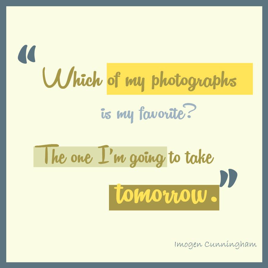Imogen Cunningham's quote #5