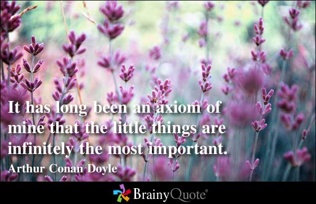 Important Things quote #1