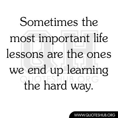Important Ways quote #2
