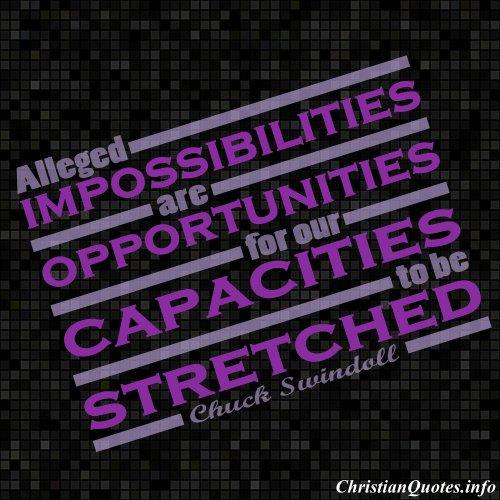 Impossibilities quote #2
