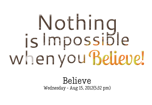 Impossibility quote #2