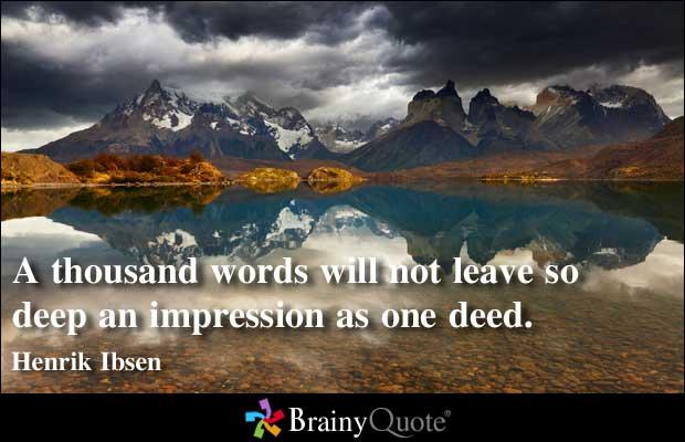 Impression quote #1