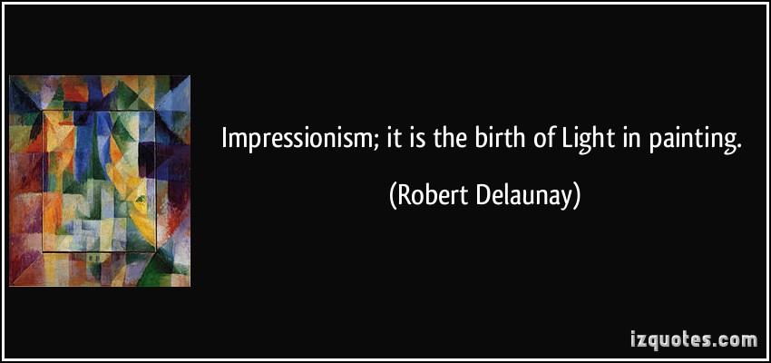 Impressionism quote #2
