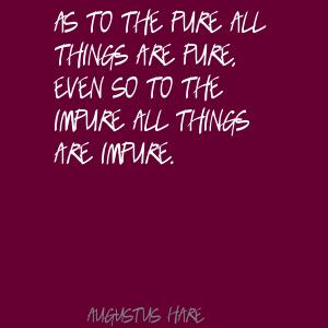 Impure quote #1