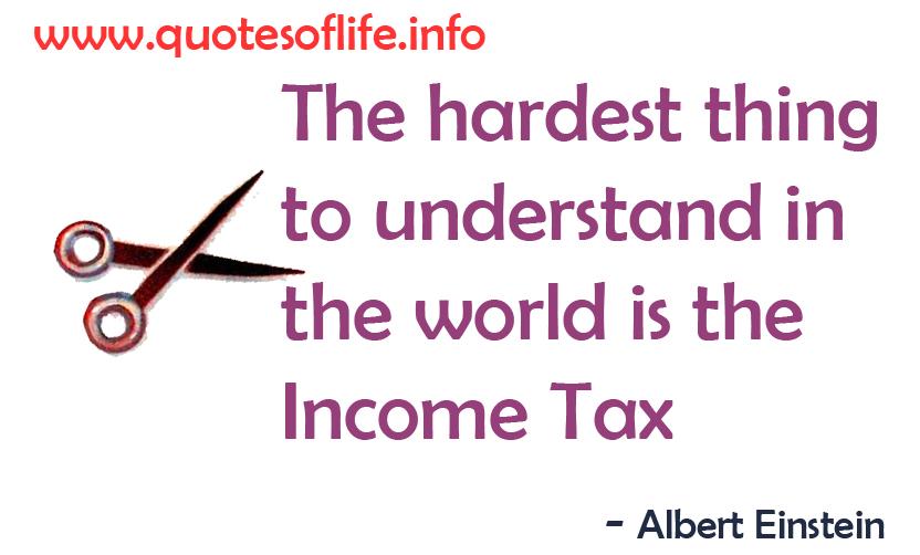 Income quote #3