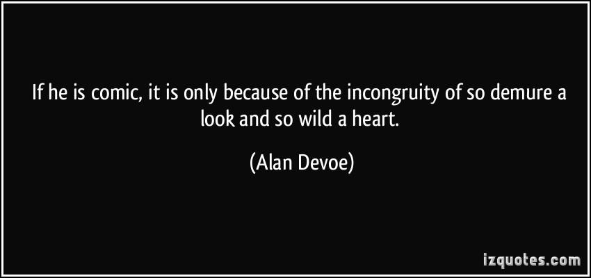 Incongruity quote #1