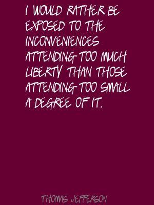 Inconveniences quote #1