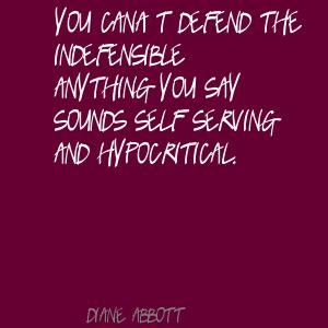 Indefensible quote #2