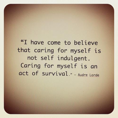 Indulgent quote #1