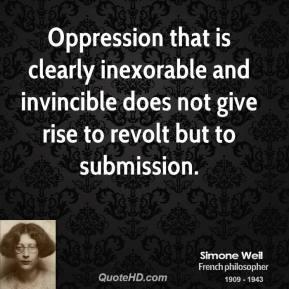 Inexorable quote #1