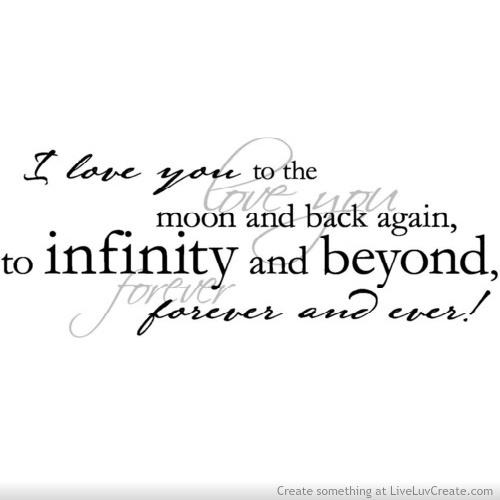 Infinity quote #1