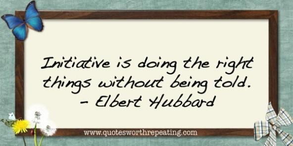 Initiative quote #5