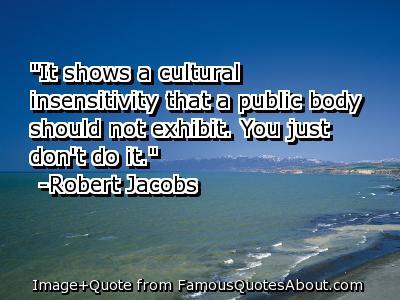 Insensitivity quote #1