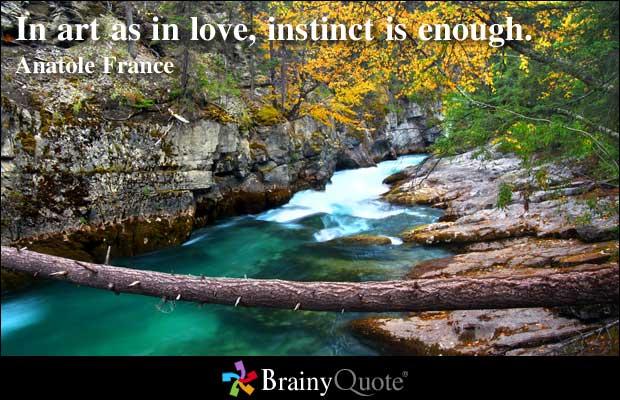 Instinct quote #2