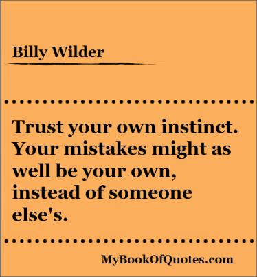 Instinct quote #4