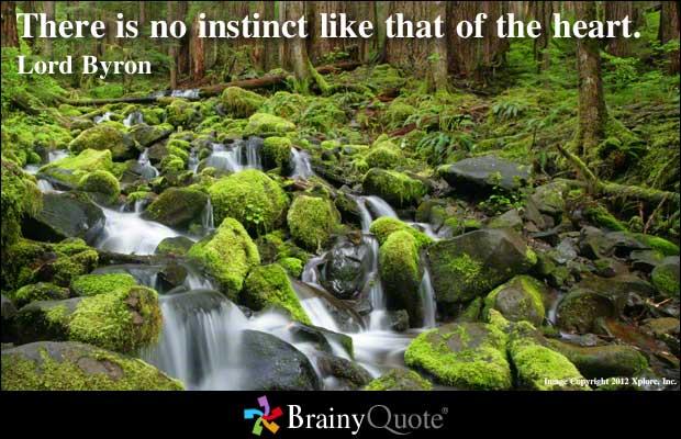 Instinctual quote #1