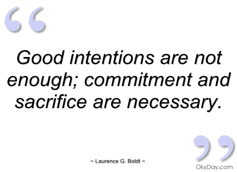 Intentions quote #4