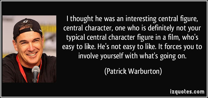Interesting Character quote #1