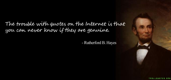 Internet quote #3
