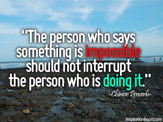 Interrupt quote #1