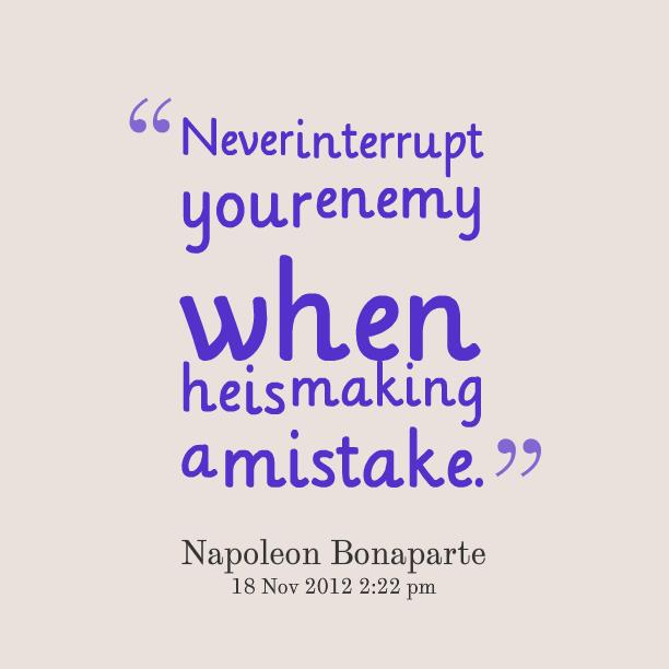 Interrupt quote #2