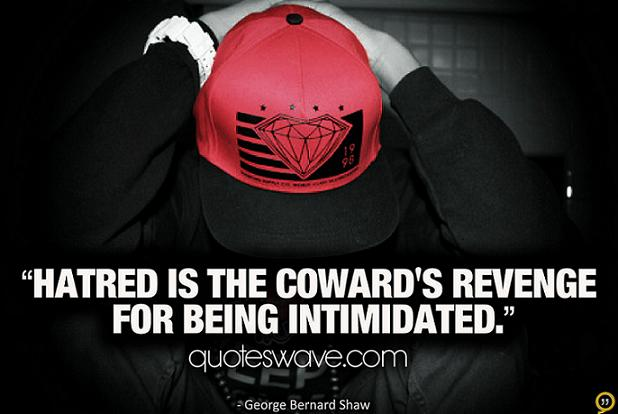 Intimidated quote #1