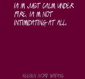 Intimidating quote #2