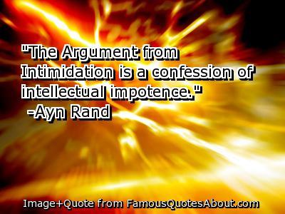 Intimidation quote #1