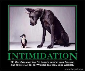 Intimidation quote #2