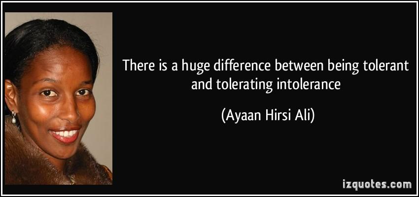 Intolerance quote #2